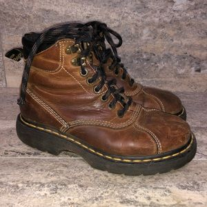 Dr Martin Brown Boots